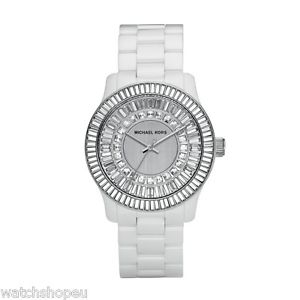 【送料無料】 michael kors mk5361 white ceramic runway watch 2 years warranty