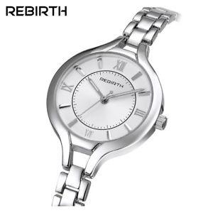 【送料無料】luxury rebirth fashion quartz watch women ladies stainless steel bracelet watche