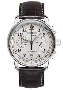 【送料無料】zeppelin herrenchronograph lz127 graf zeppelin chrono 86741