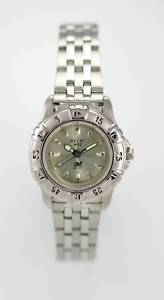 relic womens stainelss steel silver tone 165ft wr battery quartz watch