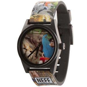 【送料無料】 neff daily wild wrist watch wildlife
