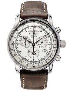 【送料無料】zeppelin graf zeppelin chronograph herrenuhr chrono 76801