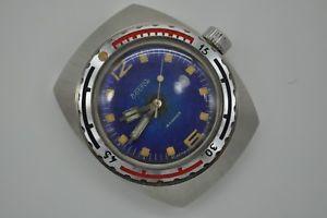 【送料無料】vintage ussr russian wristwatch vostok serviced [340]