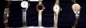 【送料無料】lot of womens vintage watches wittnauer swiss made watch timex and more