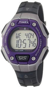 【送料無料】 timex tw5k89500 ironman womens digital sport watch grey resin strap