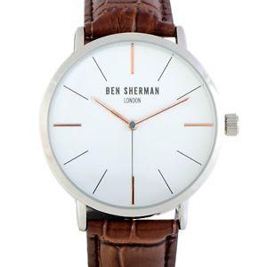 【送料無料】ben sherman london watches wb054br