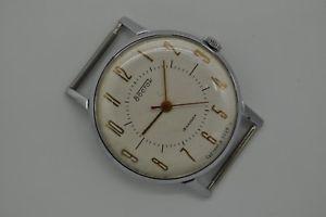 【送料無料】vintage ussr russian wristwatch vostok 1950s serviced [358]