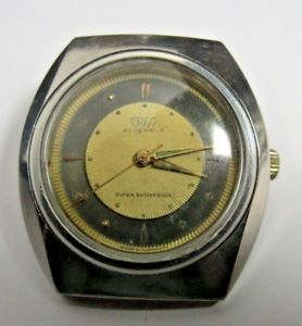 【送料無料】vintage mens swiss military orfa winding wristwatch