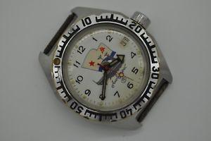 【送料無料】vintage ussr russian wristwatch vostok automatic albatros serviced [390]