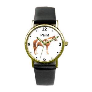 【送料無料】paint horse watch