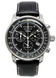 【送料無料】zeppelin graf zeppelin chronograph herrenuhr chrono 76802