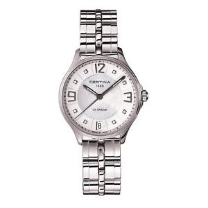 neues angebotcertina womens dsdream 305mm steel bracelet quartz watch c0212101111600