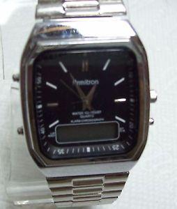 【送料無料】vintage armitron chronograph quartz watch
