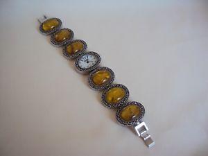 【送料無料】used giovani beverly hills woman watch bracelet working