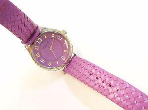 【送料無料】joan rivers purple watch
