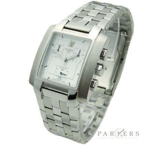 【送料無料】tissot stainless steel quartz chronograph wristwatch l875975k