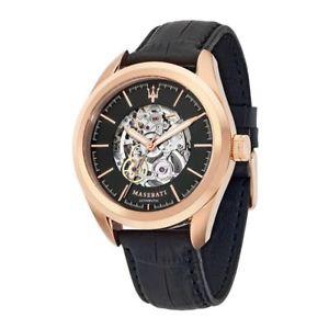 【送料無料】orologio automatico maserati traguardo r8821112001 cassa acciaio pvd rose