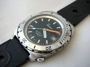 【送料無料】orologio squale quarzo 200mt vintage modello originale anni 197080