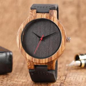【送料無料】mens handmade wooden watch