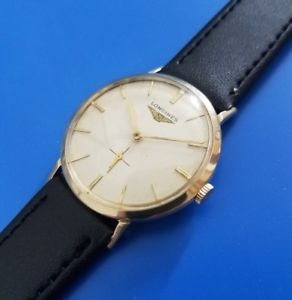 【送料無料】vintage 1966 mans longines hand winding fully serviced warranty