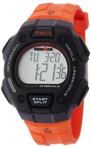 【送料無料】timex ironman triathlon tw5k86200 mens digital chronograph sport resin watch