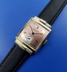 【送料無料】vintage1946 mans gruen curvex 440 hand winding fully serviced warranty