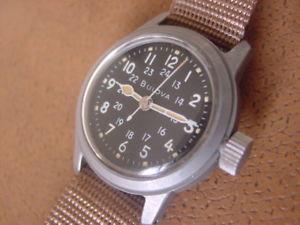 【送料無料】vintage bulova military issue wrist watch type a 17a cal 10bnch