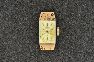 【送料無料】vintage cal 897 elgin ladies wrist watch movement