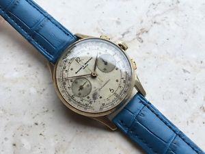 【送料無料】baume amp; mercier genve anni 50 , cronografo oversize 37mm