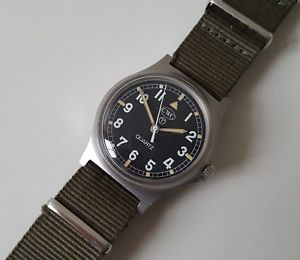 【送料無料】british military 1982 cwc fat boy quartz wrist watch 2