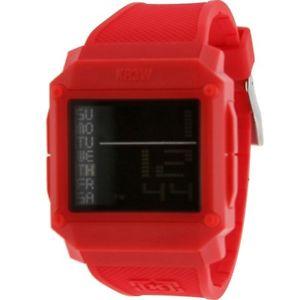 【送料無料】k1148redd1s kr3w halo watch red water resistent 50m 5atm