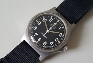 【送料無料】british military 1982 cwc fat boy quartz wrist watch 1