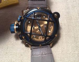 【送料無料】neues angebotinvicta russian diver model 17344 mens stainless steel quartz chronograph watch