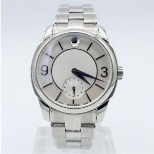 【送料無料】movado womens quartz watch 0606618sd