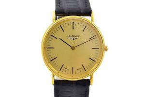 【送料無料】neues angebotvintage longines gold plated classic quartz midsize watch 932