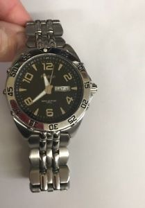 【送料無料】men's armitron watch 204665sv