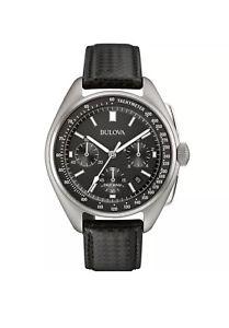 【送料無料】bulova mens special edition moon apollo 15 262khz frequency watch 96b251