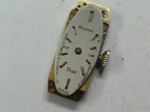 vintage ladies bulova 3ak 17jewel wristwatch movement     m490