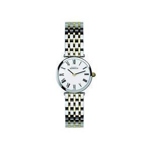 【送料無料】michel herbelin womens two tone steel bracelet swiss quartz watch 1045bt01