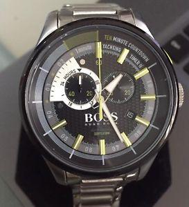mens genuine hugo boss yachting timer ii chronograph designer watch 1513336