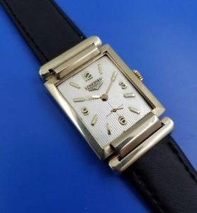 vintage 1950s mans longines hand winding fully serviced warranty