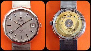 nivadaglxanniversaryautomatic vintage watcheta 2892all stainless steelrare