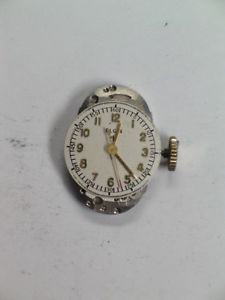 【送料無料】vintage elgin grade 547 center second hand wristwatch movement   m308