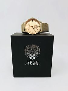 【送料無料】vince camuto womens vc5315 crystal accented rose gold