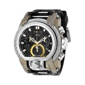 【送料無料】invicta mens reserve quartz chronograph stainless steel watch 26442