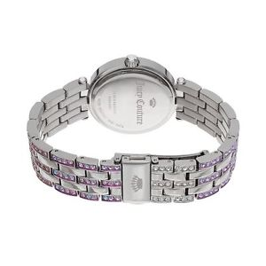 juicy couture womens victoria stainless steel bling watch
