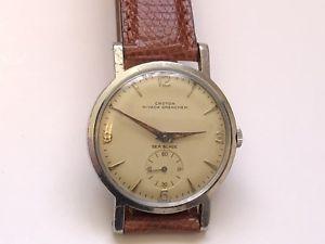 【送料無料】vintage croton nivada grenchen sea blade wristwatch very rare 3x