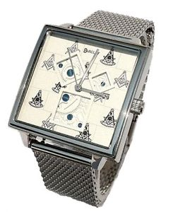 【送料無料】the past master watch designed after the 3 squares in the 47th problem of euclid