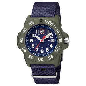 【送料無料】luminox 3503nd mens navy seal 3500 swiss blue strap dive watch