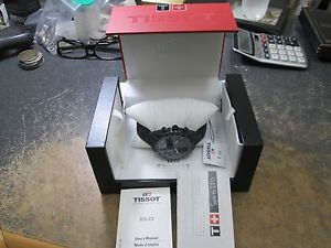【送料無料】tissot chronograph g10212 drivers wrist watch in original box amp; booklets